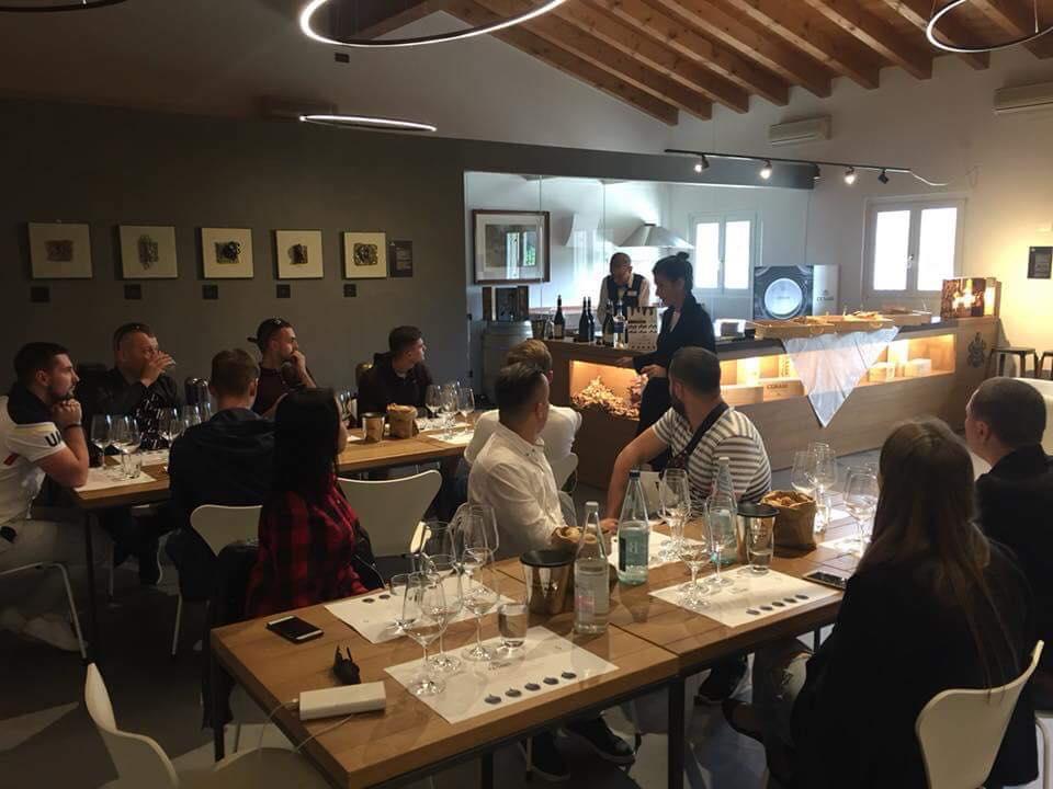 Навчання на виноробні в Італії